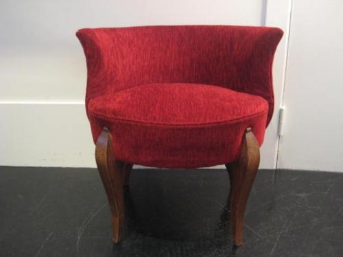 Small boudoir chair