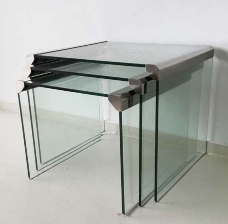 70s Nest of Tables by Galotti and Radice