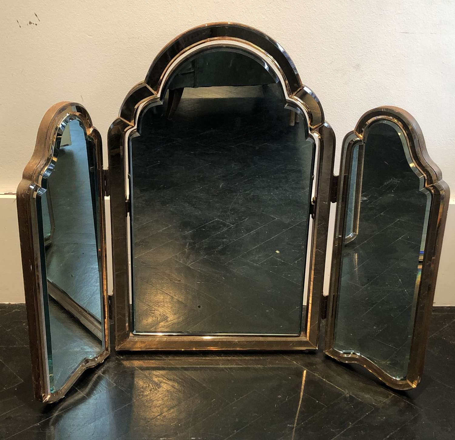 Triptych Mirror - early c20th