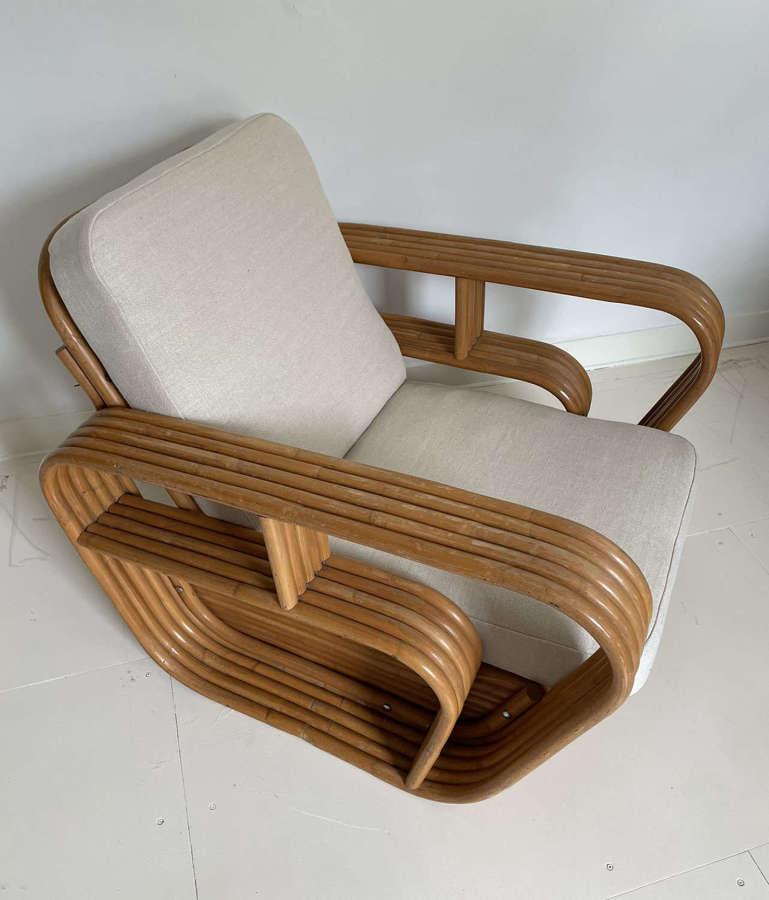 Art Deco Pretzel Chair by Paul Frankl