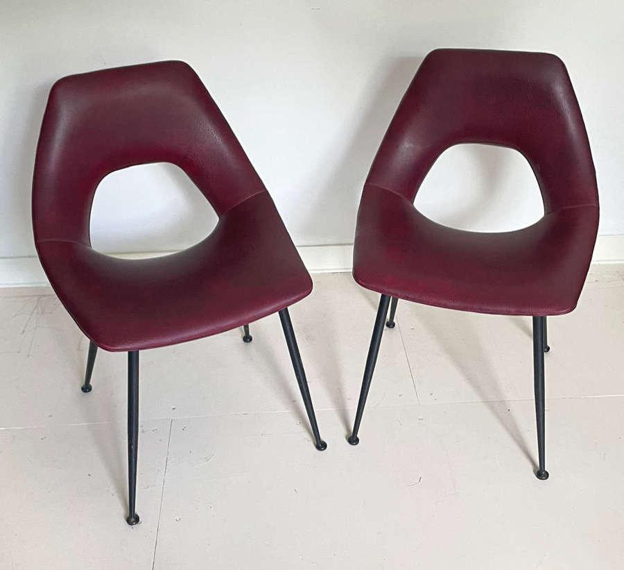 Pair of Italian Mid Century Chairs